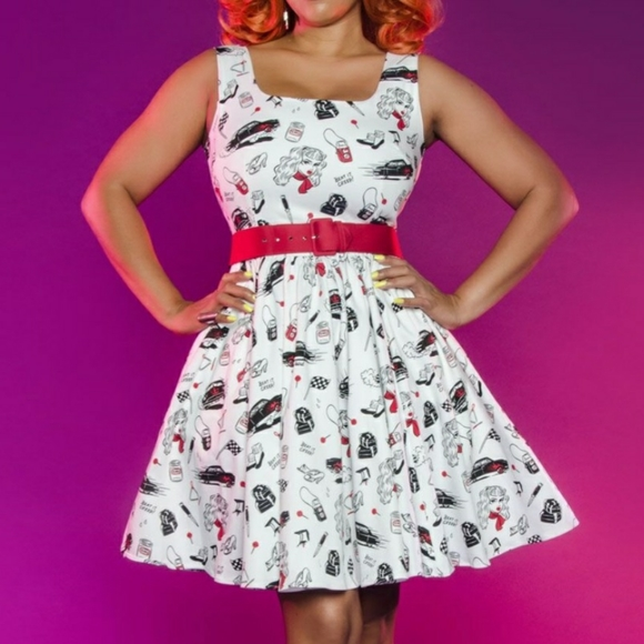 Pin Up Girl Dresses & Skirts - Delinquent dress by Pin Up Girl